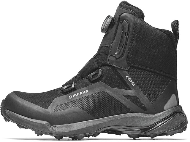 Icebug Walkabout BUGrip GTX Chaussures Femme, black